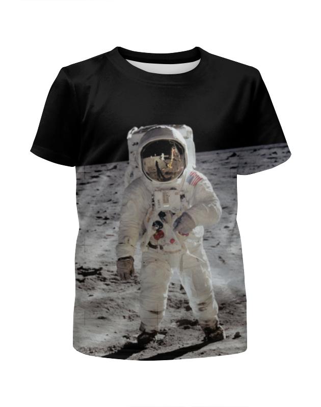 Футболка с полной запечаткой для мальчиков Printio Астронавт футболка с полной запечаткой для мальчиков printio haiku