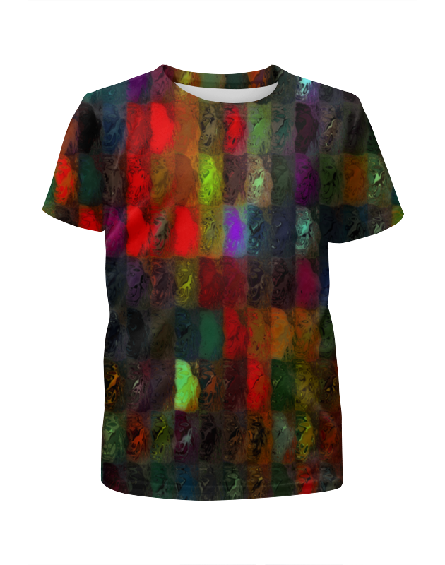 Printio Кубики красками леггинсы printio кубики красками