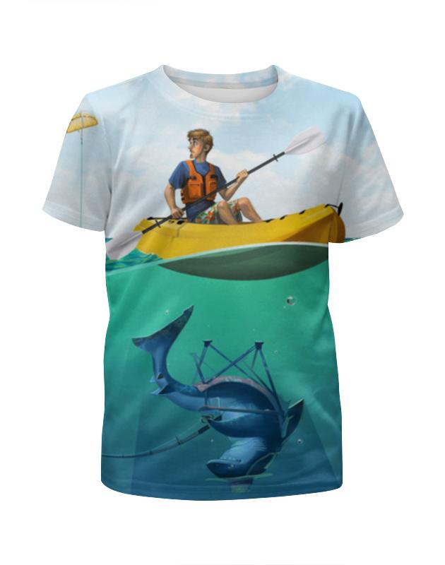 Printio Рыбалка футболка с полной запечаткой для мальчиков printio медвежья рыбалка