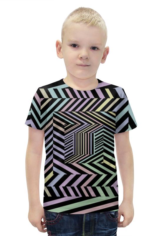 Футболка с полной запечаткой для мальчиков Printio Иллюзия футболка с полной запечаткой для девочек printio иллюзия