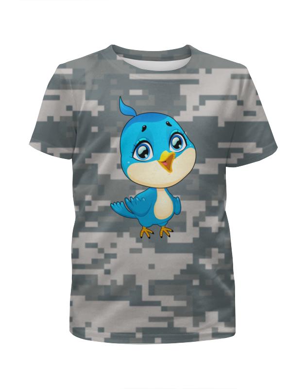 Футболка с полной запечаткой для мальчиков Printio Птичка футболка с полной запечаткой для мальчиков printio птичка