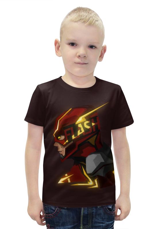 Футболка с полной запечаткой для мальчиков Printio Flash футболка с полной запечаткой для мальчиков printio bats spawn arsb