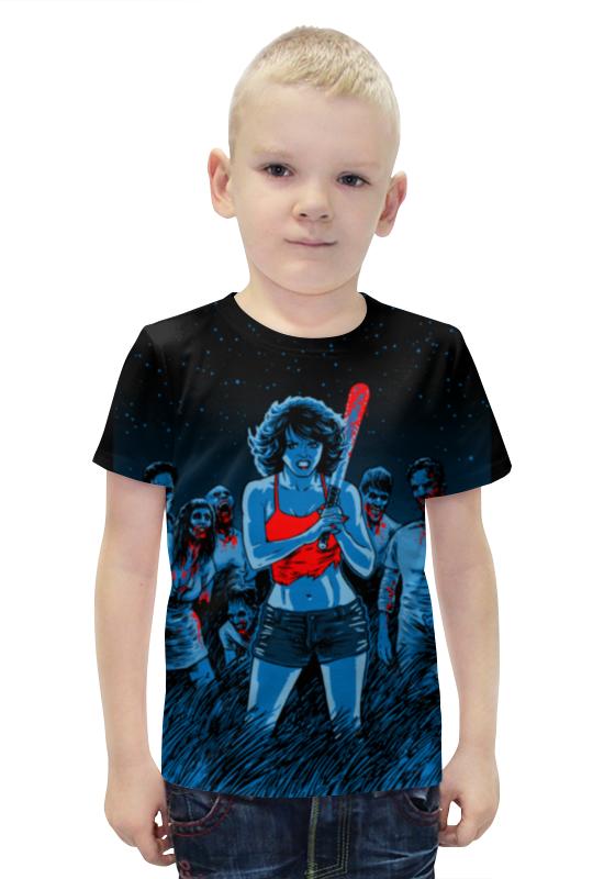 Футболка с полной запечаткой для мальчиков Printio Зомби футболка с полной запечаткой для мальчиков printio bats spawn arsb