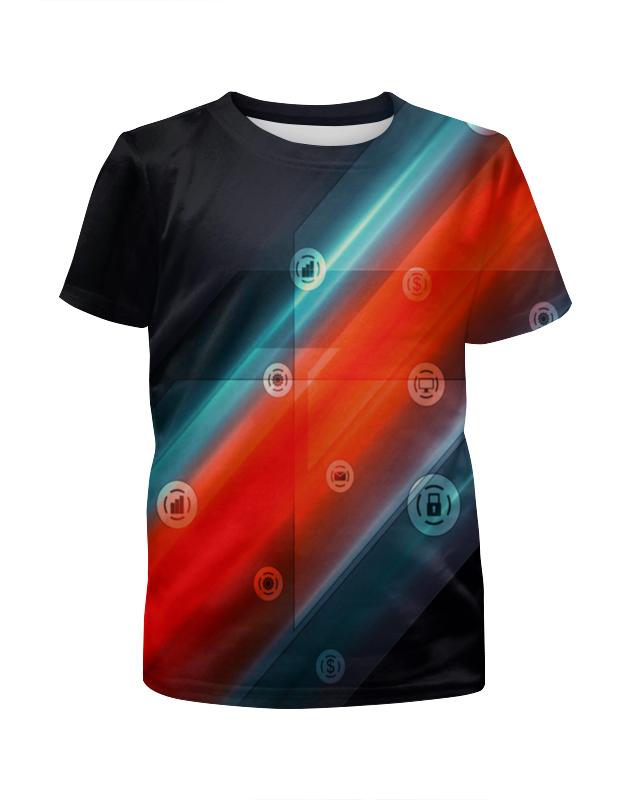 Футболка с полной запечаткой для мальчиков Printio Виджеты футболка с полной запечаткой для мальчиков printio виджеты