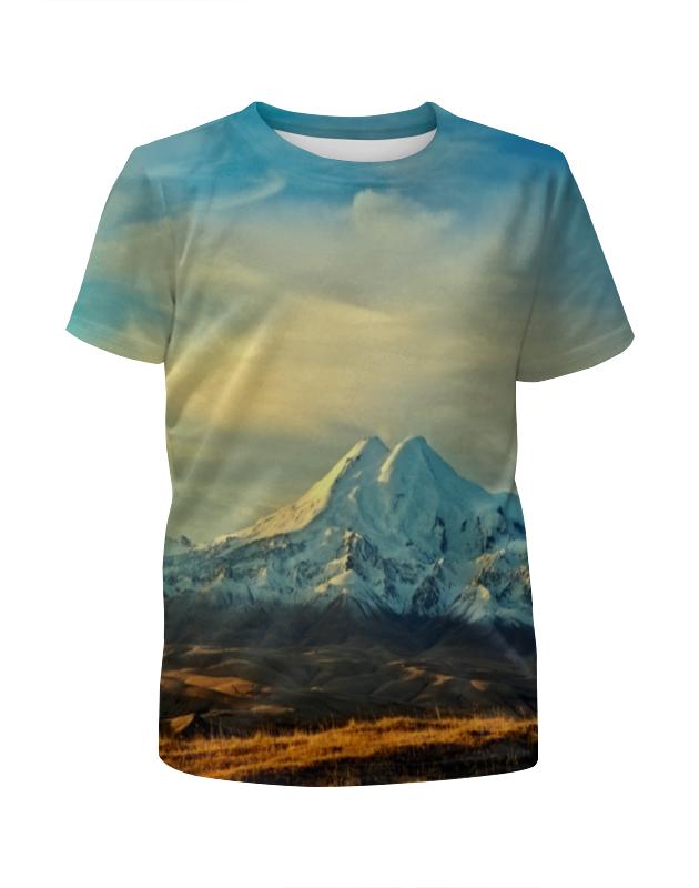 Футболка с полной запечаткой для мальчиков Printio Горная долина футболка с полной запечаткой мужская printio горная тропа
