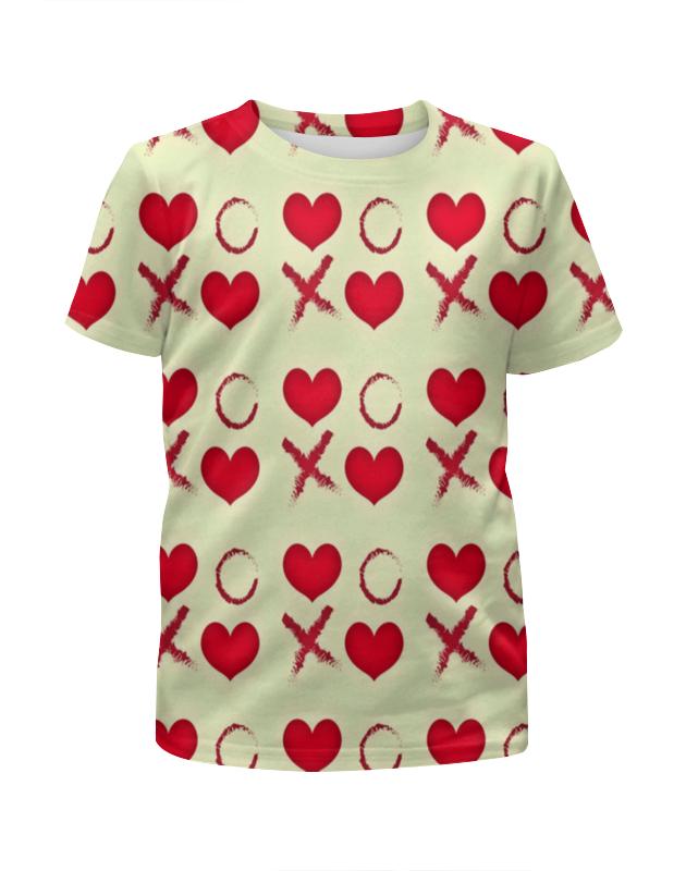 Футболка с полной запечаткой для мальчиков Printio Крестики-нолики футболка с полной запечаткой для мальчиков printio braaaaatnsssss