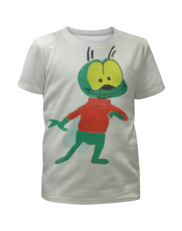 Футболка с полной запечаткой для мальчиков Printio Добрая муха футболка с полной запечаткой женская printio cycles perfecta альфонс муха