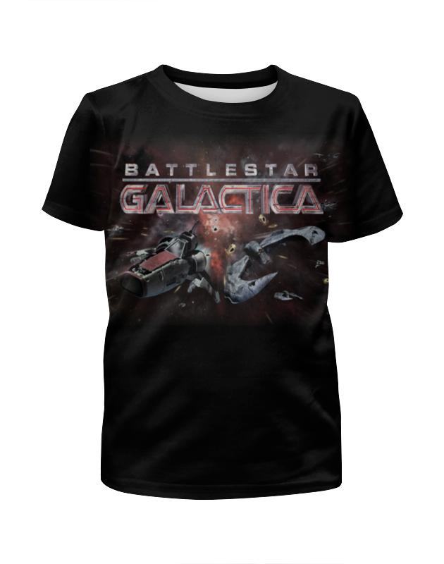 Футболка с полной запечаткой для мальчиков Printio Battlestar galactica футболка с полной запечаткой для мальчиков printio bats spawn arsb