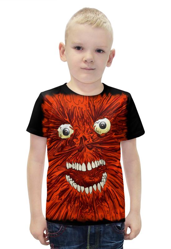 Футболка с полной запечаткой для мальчиков Printio Necronomicon футболка с полной запечаткой для мальчиков printio bats spawn arsb