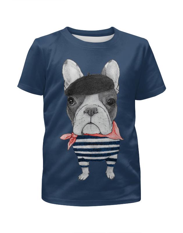 Футболка с полной запечаткой для мальчиков Printio Хипстер футболка с полной запечаткой для девочек printio хипстер пес
