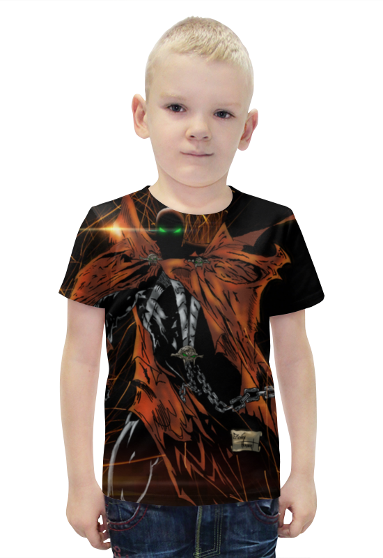 Футболка с полной запечаткой для мальчиков Printio Spawn футболка с полной запечаткой printio спаун spawn
