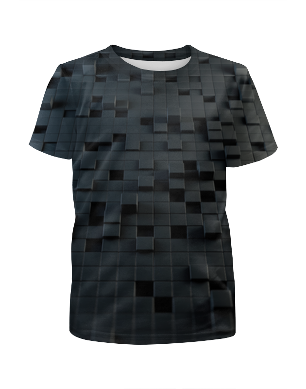 Футболка с полной запечаткой для мальчиков Printio Кубы 3d футболка с полной запечаткой для мальчиков printio пузыри 3d
