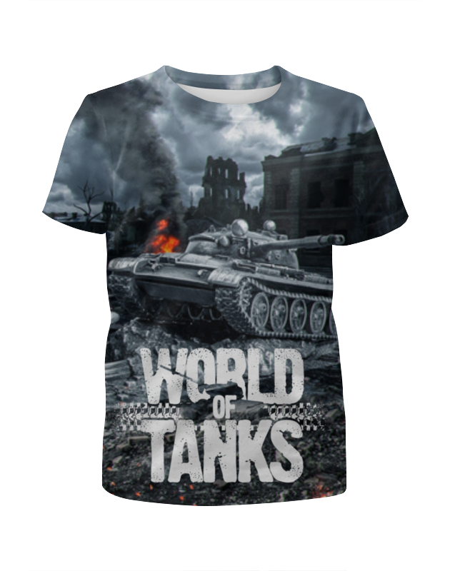Футболка с полной запечаткой для мальчиков Printio World of tanks edwin ed 55 relaxed tapered compact indigo 11 5 oz blue coal wash