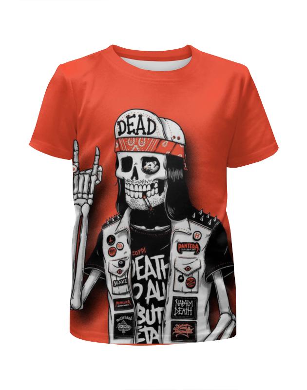 Футболка с полной запечаткой для мальчиков Printio Bones brigade футболка с полной запечаткой для мальчиков printio фруктовая