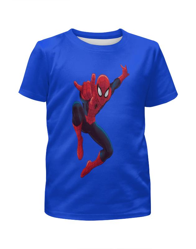 Футболка с полной запечаткой для мальчиков Printio Человек-паук футболка с полной запечаткой для мальчиков printio человек паук миньон