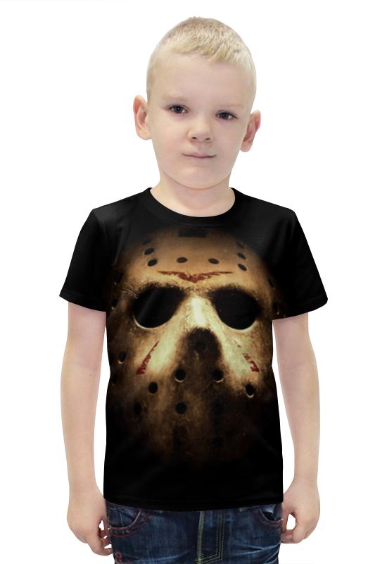 Футболка с полной запечаткой для мальчиков Printio Маска джейсона футболка с полной запечаткой для девочек printio джейсон