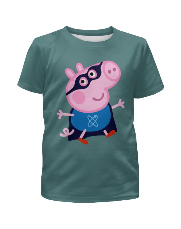 Футболка с полной запечаткой для мальчиков Printio Peppa pig футболка с полной запечаткой для мальчиков printio bats spawn arsb