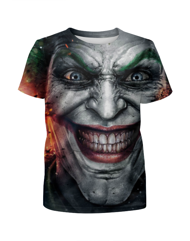 Футболка с полной запечаткой для мальчиков Printio Joker футболка с полной запечаткой для девочек printio joker