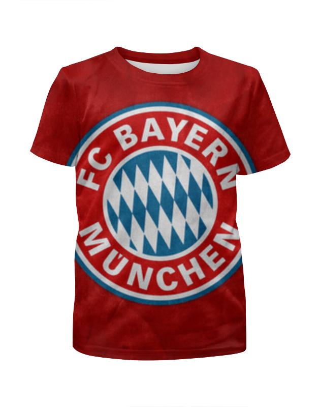 Футболка с полной запечаткой для мальчиков Printio Бавария мюнхен