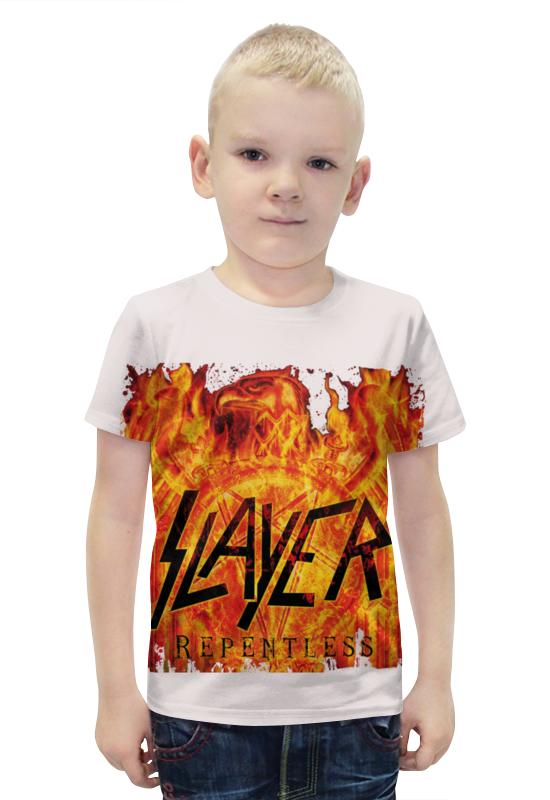 Футболка с полной запечаткой для мальчиков Printio Slayer repentless 2015 (3)