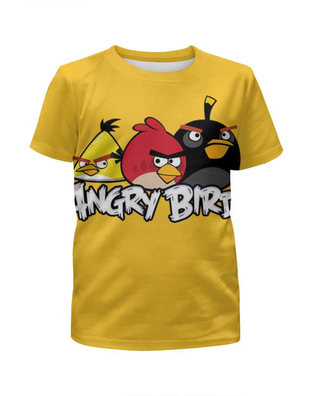 Футболка с полной запечаткой для мальчиков Printio Angry birds цена и фото