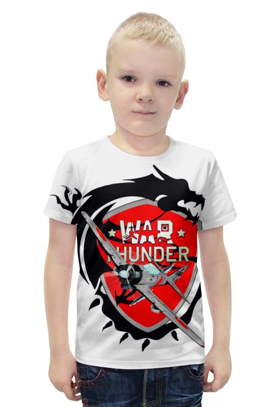 Футболка с полной запечаткой для мальчиков Printio War thunder