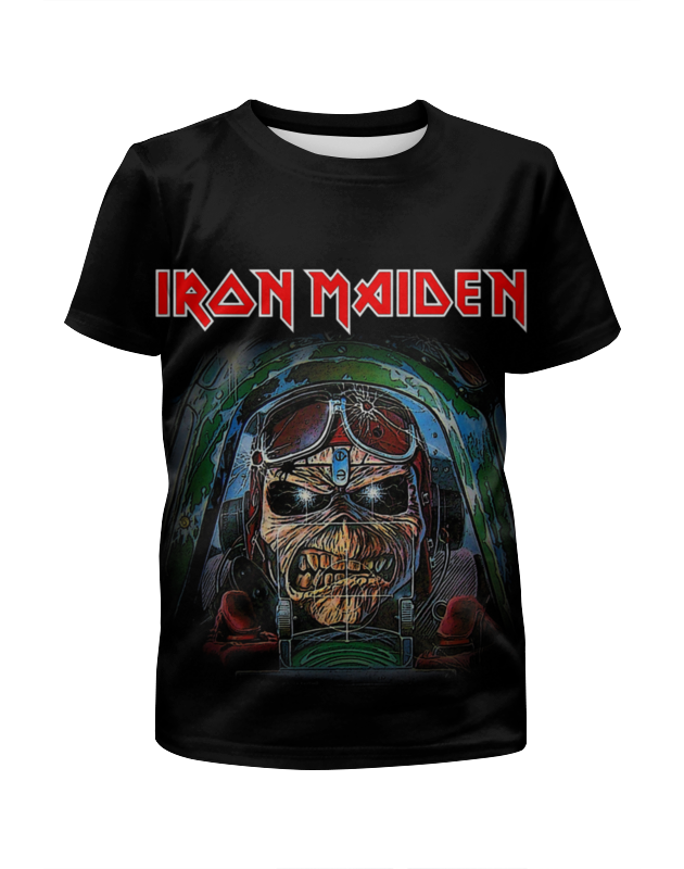Футболка с полной запечаткой для мальчиков Printio Iron maiden band cd iron maiden a matter of life and death