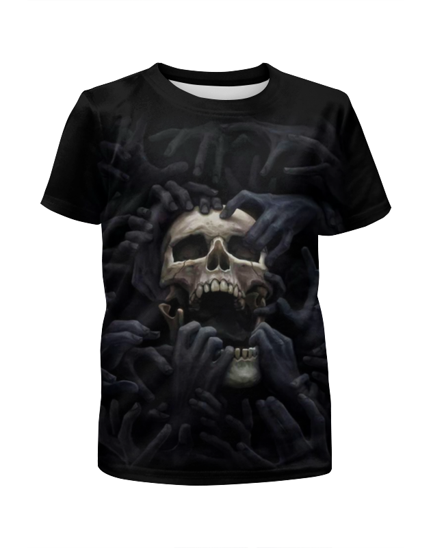 Printio Skull art цена и фото
