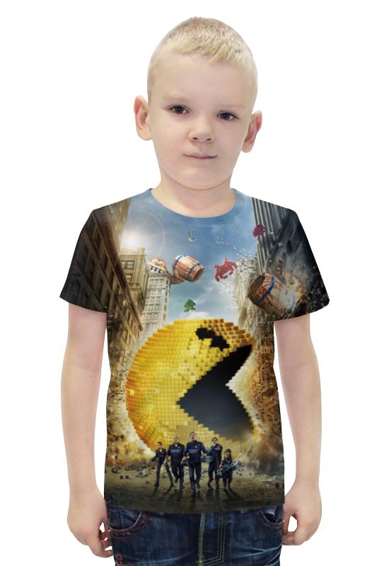 Футболка с полной запечаткой для мальчиков Printio Пиксели футболка с полной запечаткой для мальчиков printio bats spawn arsb
