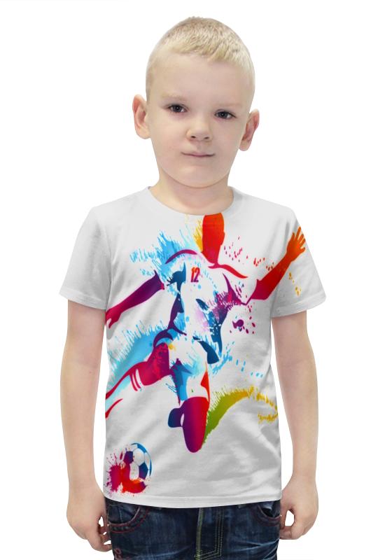 Футболка с полной запечаткой для мальчиков Printio Футбол футболка с полной запечаткой для мальчиков printio slove arsb