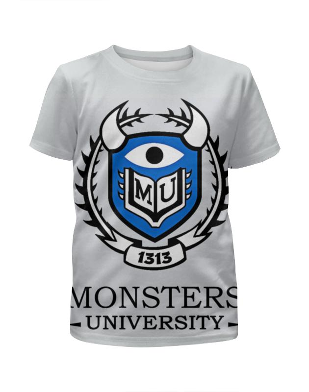 Футболка с полной запечаткой для мальчиков Printio Monsters university футболка с полной запечаткой для мальчиков printio slove arsb