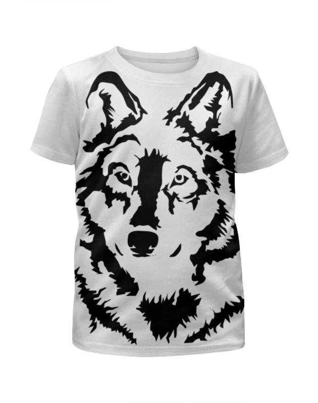 Футболка с полной запечаткой для мальчиков Printio Тату волк футболка с полной запечаткой для мальчиков printio тату волк