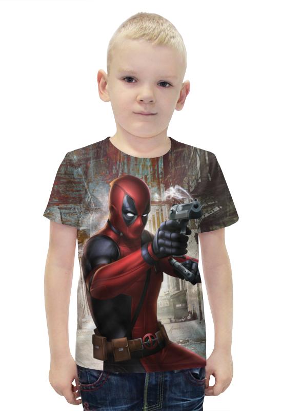 Футболка с полной запечаткой для мальчиков Printio Deadpool футболка с полной запечаткой для мальчиков printio bats spawn arsb