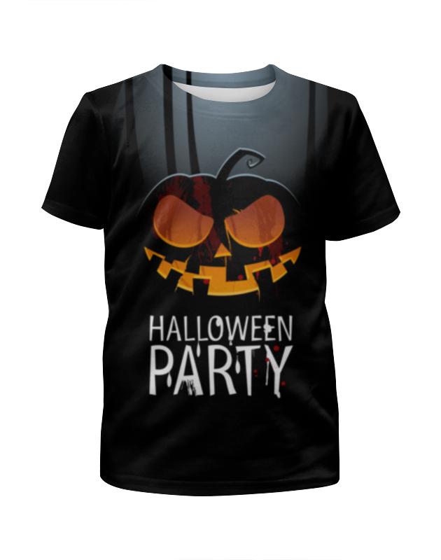 Футболка с полной запечаткой для мальчиков Printio Halloween party yeduo halloween mask horror hell masks latex party scary monster for festival party cosplay