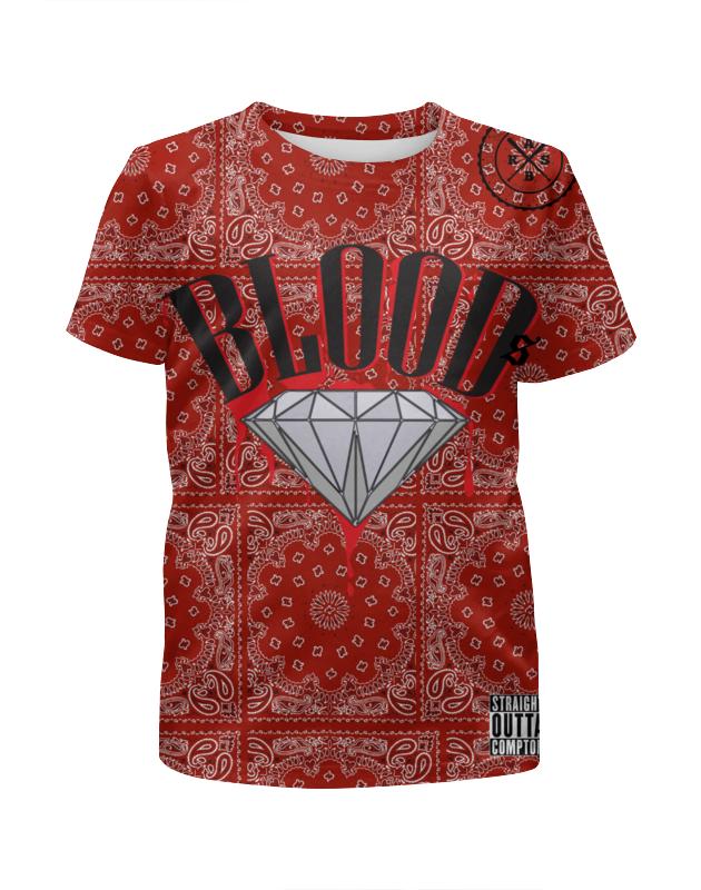 Футболка с полной запечаткой для мальчиков Printio Gang bloods_arsboyz футболка с полной запечаткой для мальчиков printio bats spawn arsb