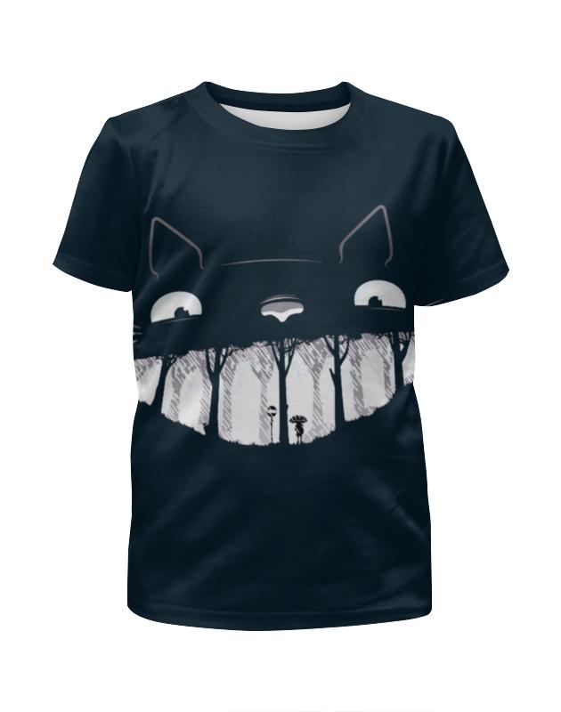 Футболка с полной запечаткой для мальчиков Printio Улыбка кота футболка с полной запечаткой для мальчиков printio bats spawn arsb