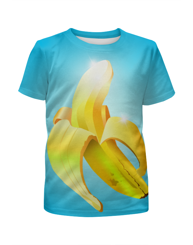 Printio Банан свитшот унисекс с полной запечаткой printio банан