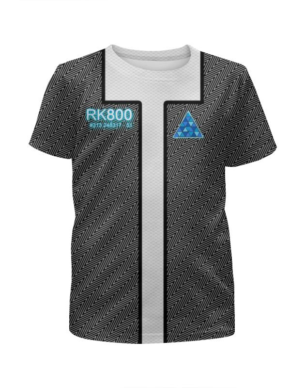 Футболка с полной запечаткой для мальчиков Printio Detroit: become human футболка с полной запечаткой для мальчиков printio detroit become human