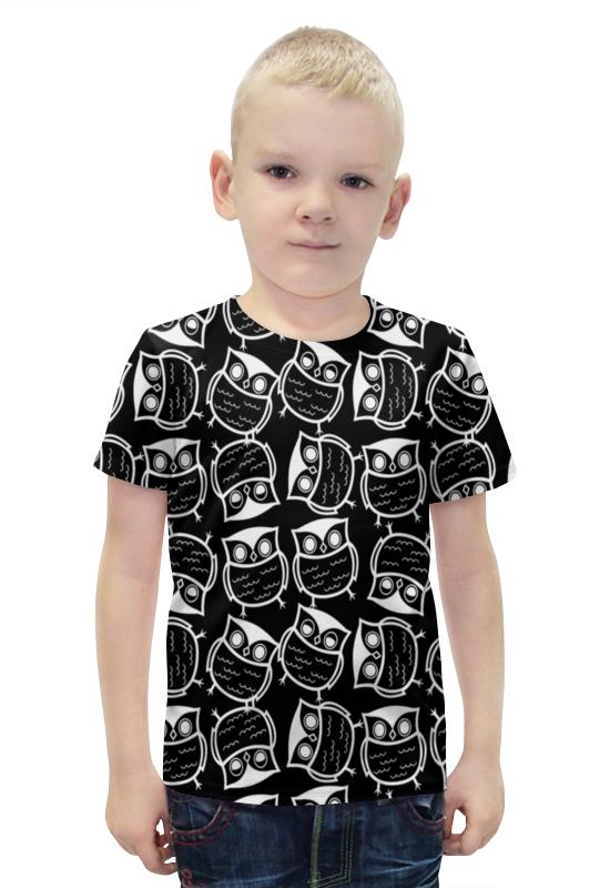 Футболка с полной запечаткой для мальчиков Printio Совушки футболка с полной запечаткой для мальчиков printio bats spawn arsb