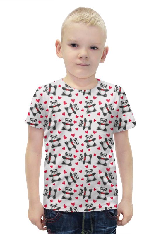 Футболка с полной запечаткой для мальчиков Printio Мишки панда футболка с полной запечаткой для девочек printio панда
