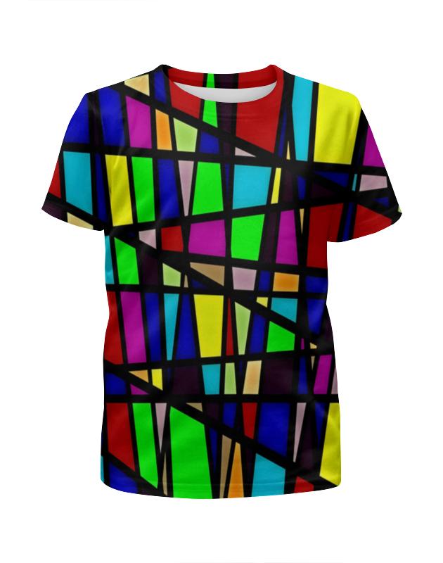 Футболка с полной запечаткой для мальчиков Printio Line линии футболка с полной запечаткой женская printio line линии