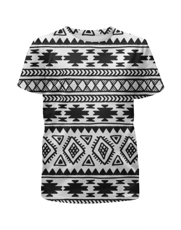 Футболка с полной запечаткой для мальчиков Printio Этнический узор футболка с полной запечаткой для мальчиков printio москва россия
