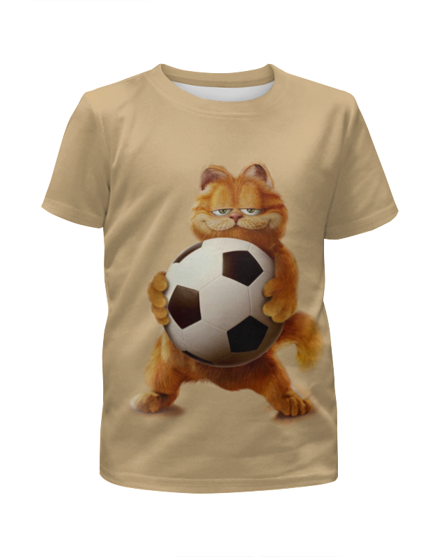 Футболка с полной запечаткой для мальчиков Printio Гарфилд футболист футболка с полной запечаткой для мальчиков printio bats spawn arsb