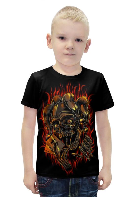 Футболка с полной запечаткой для мальчиков Printio Joker футболка с полной запечаткой для мальчиков printio bats spawn arsb