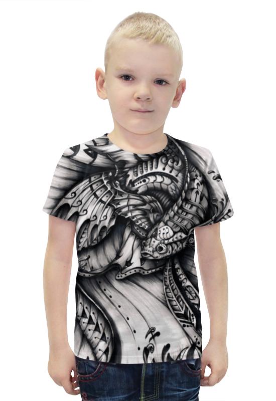 Футболка с полной запечаткой для мальчиков Printio Рыбка кои футболка для беременных printio рыбка