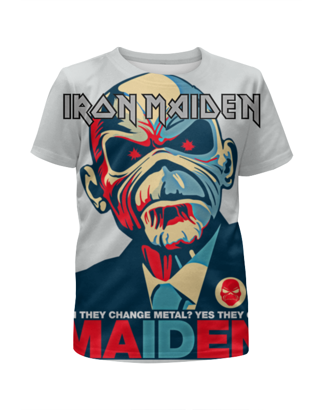 Футболка с полной запечаткой для мальчиков Printio Iron maiden band футболка iron maiden