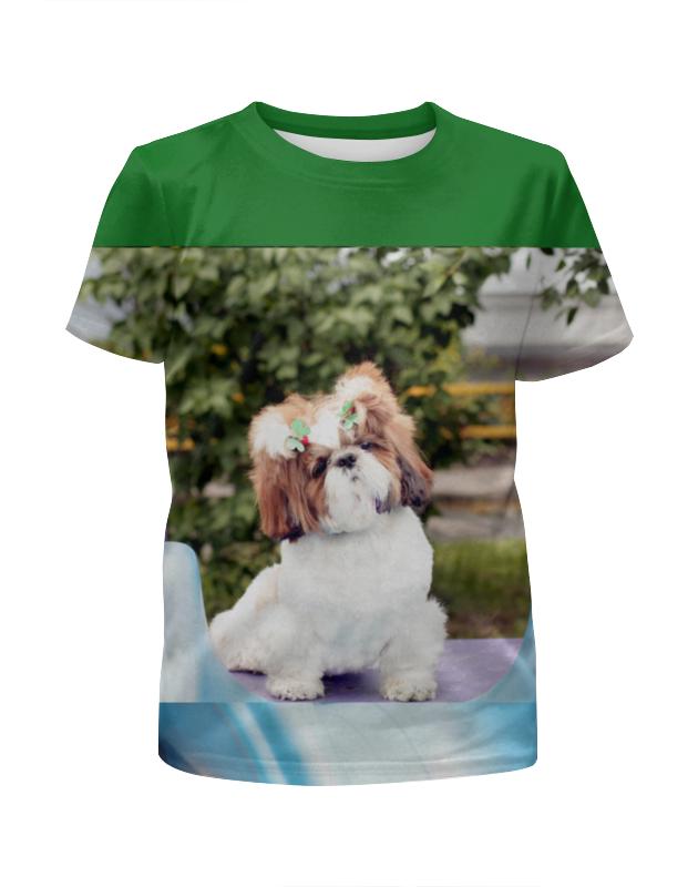 Футболка с полной запечаткой для мальчиков Printio Beautiful friend of the dog футболка с полной запечаткой для мальчиков printio sly old dog