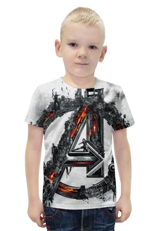 Футболка с полной запечаткой для мальчиков Printio Avengers футболка с полной запечаткой для мальчиков printio bats spawn arsb