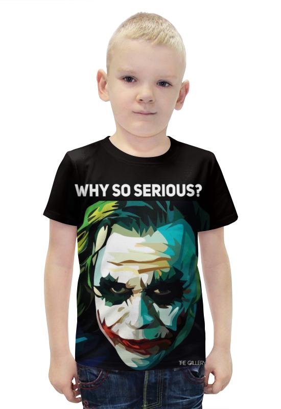 Футболка с полной запечаткой для мальчиков Printio Джокер футболка с полной запечаткой для мальчиков printio slove arsb