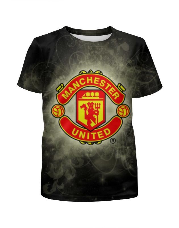 Футболка с полной запечаткой для мальчиков Printio Манчестер юнайтед (мю) футболка манчестер юнайтед